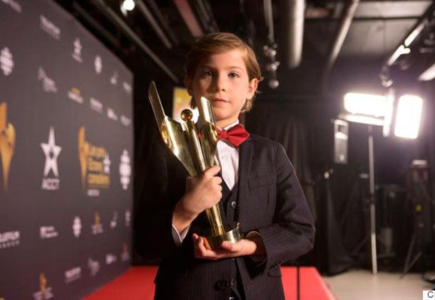 جیکوب ترامبلی خردسال برنده جایزه بهترین بازیگر مرد