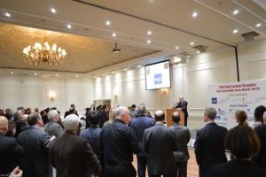 مراسم فاندریزینگ دکتر مریدی برای حزب لیبرال