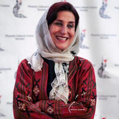 فاطمه معتمدآریا در نمایش فیلم یحیی سکوت نکرد در تورنتو  عکس از نگین صمیمی