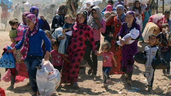 از خانه آواره شده اند بی آنکه بدانند  کجا قرار خواهند گرفت