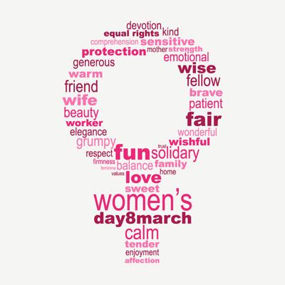 ۸ مارس روز جهانی زن مبارک!