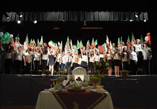 بیست و پنجمین جشن نوروزی مدرسه فارسی