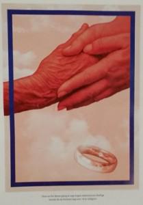 پس از 78 سال، بورگهیلد حلقهی ازدواجش را به نوه میدهد