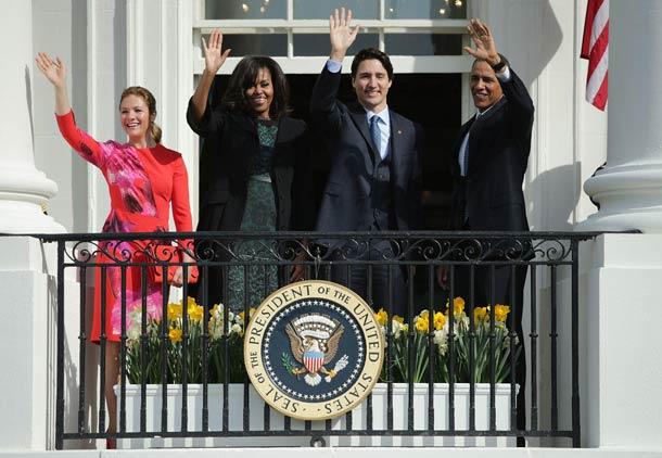 سفر رسمی نخست وزیر کانادا به آمریکا