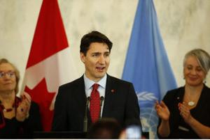 سفر ترودو به نیویورک و سازمان ملل متحد برای حمایت از حقوق زنان