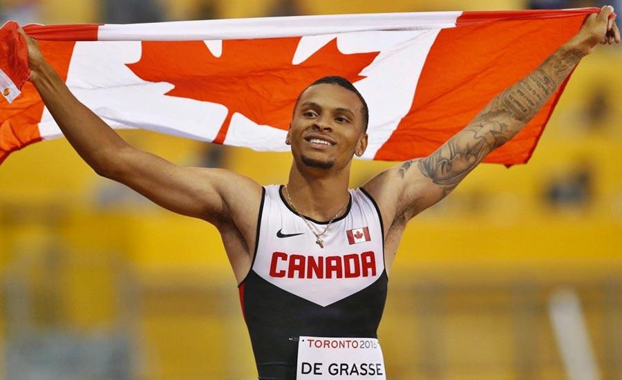 دونده برتر سرعت کانادا برای المپیک آماده می شود
