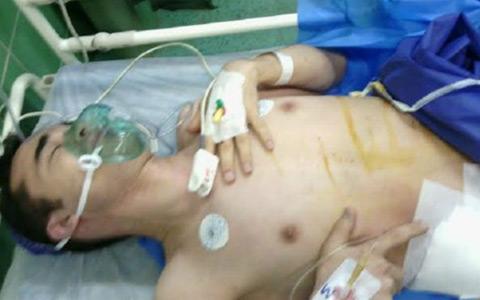 خارج کردن کلیه امید کوکبی به علت ابتلا به سرطان در زندان