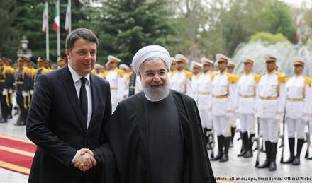 سفر نخست وزیر ایتالیا به ایران