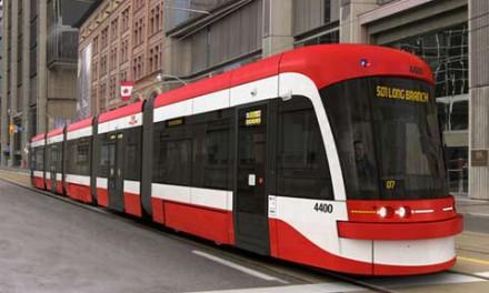 ۱۶ تراموا به ناوگان حمل و نقل تورنتو اضافه می شود