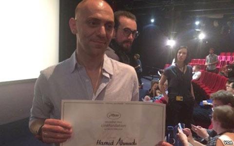 حمید احمدی برنده فیلم کوتاه در بخش سینه فونداسیون