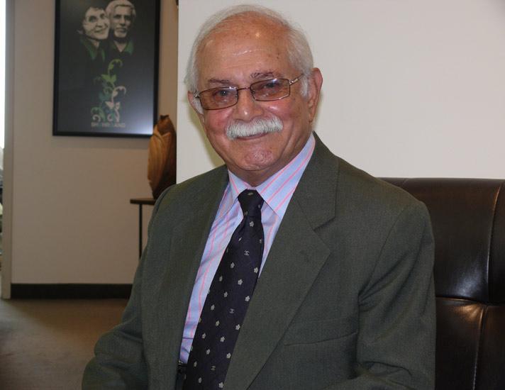 استاد ناصر مسعودی در دفتر شهروند سال 2014