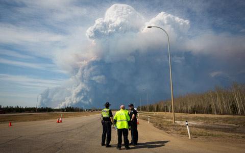 سرایت آتش سوزی فورت مک موری به ساسکاچوان