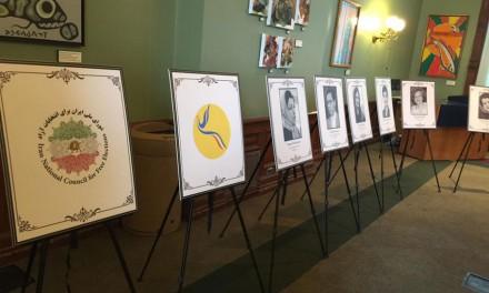 نمایشگاه حقوق بشر در پارلمان انتاریو