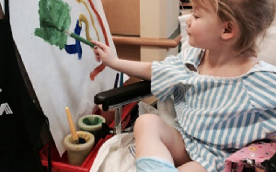 avery-painting-in-hospital