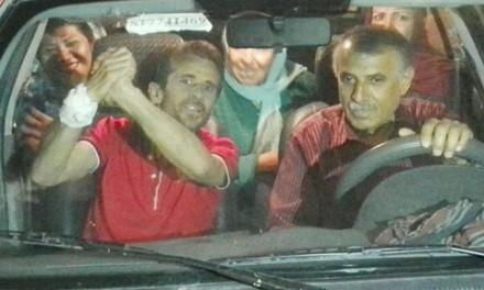 پس از ۶۴ روز اعتصاب غذا جعفر عظیمزاده آزاد شد