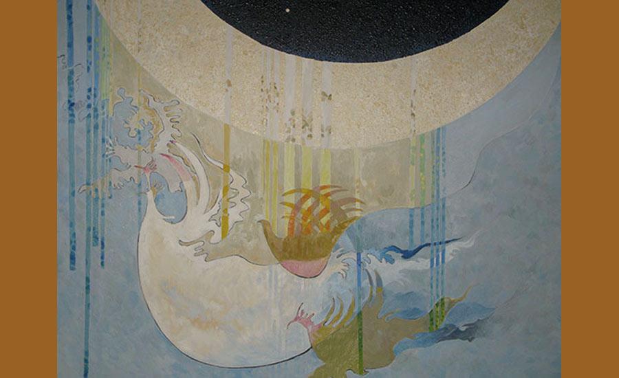 نقاشی محمد خلیلی ـ عکس حسین تحویلیان