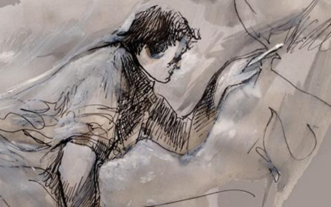 هنگامی که نقاش به مرز نابینایی نزدیک می شود*/ترجمه: ایرج نوبخت
