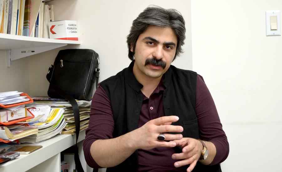شاهو عندلیبی در دفتر شهروند