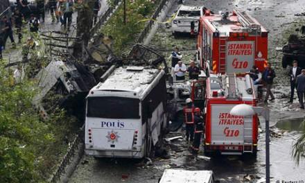 ده ها کشته و زخمی در انفجارهای ترکیه