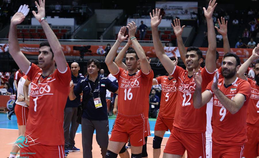 درخشش تیم والیبال ایران در بازی های انتخابی المپیک