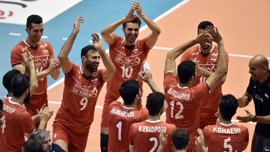 صعود تاریخی والیبال ایران به بازیهای المپیک