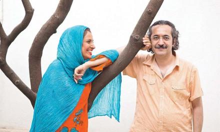 """با آیدا کیخایی کارگردان، و محمد یعقوبی نویسندهی نمایشنامه """"رقص کاغذپارهها""""/امین عظیمی"""