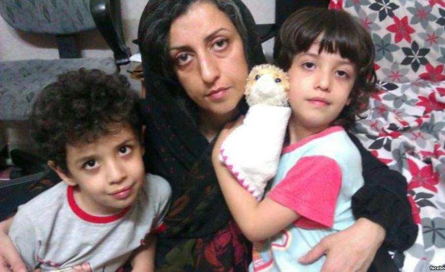 نرگس محمدی پس از گفتوگو با فرزندانش به اعتصاب غذا پایان داد