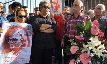 برگزاری مراسم شانزدهمین سالگرد درگذشت شاملو پشت در بسته ی گورستان