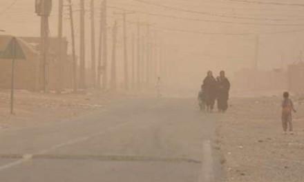 آلودگی هوا، هزاران سیستانی را دچار مشکلات تنفسی کرد