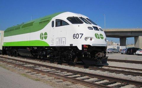 سفارش ۴۲۸ میلیون دلاری برای قطارهای Go به بمباردیه
