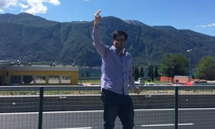 مهدی خسروی، پناهنده سیاسی، آزاد شد