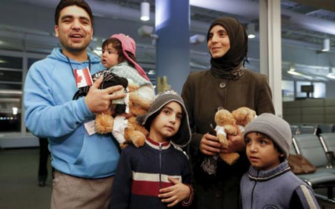 تاخیر در پرداخت کمک مزایای کودکان به پناهندگان سوری