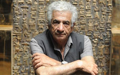 مجسمه های پرویز تناولی در موزه آقاخان