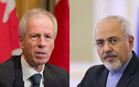 نخستین دیدار وزیران خارجه ایران و کانادا پس از قطع روابط