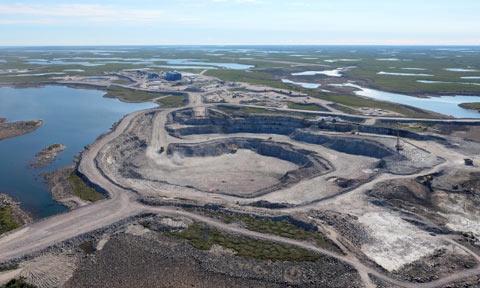 کانادا یکی از بزرگترین معادن الماس جهان را بازگشایی می کند