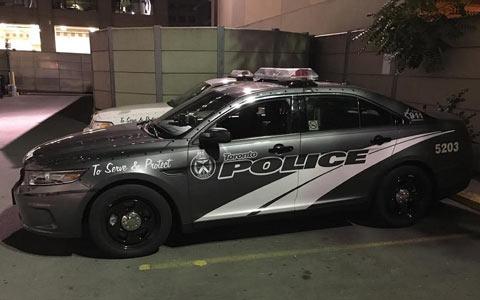 دلیل تغییر رنگ ماشین های گشت پلیس تورنتو