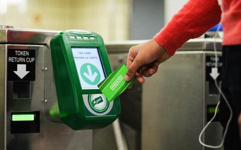 سیستم پرداخت کرایه در حمل و نقل تورنتو به روز می شود