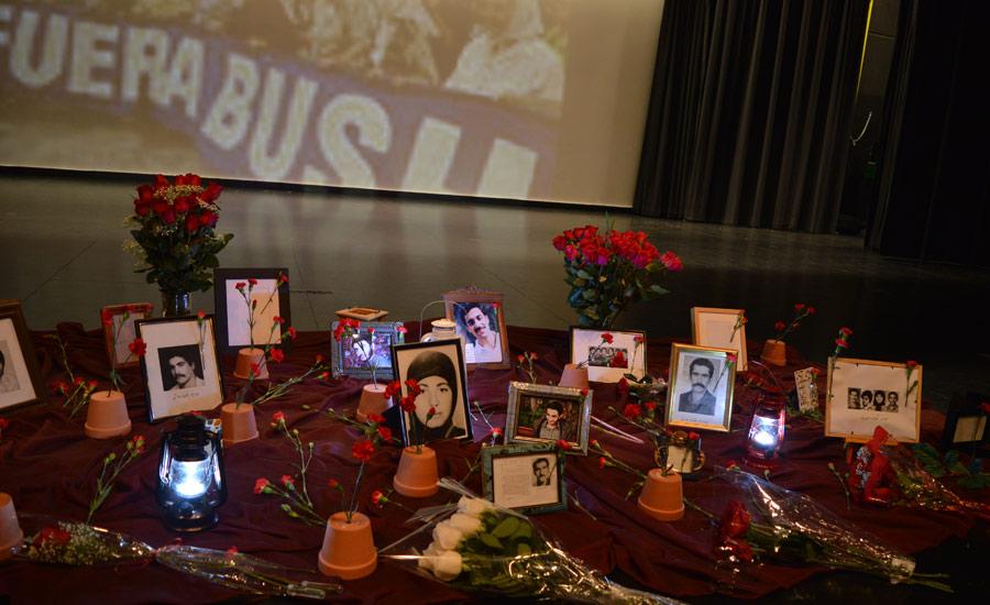 گزارش برنامه ی یادمان ۲۸ امین سال کشتار زندانیان سیاسی ایران