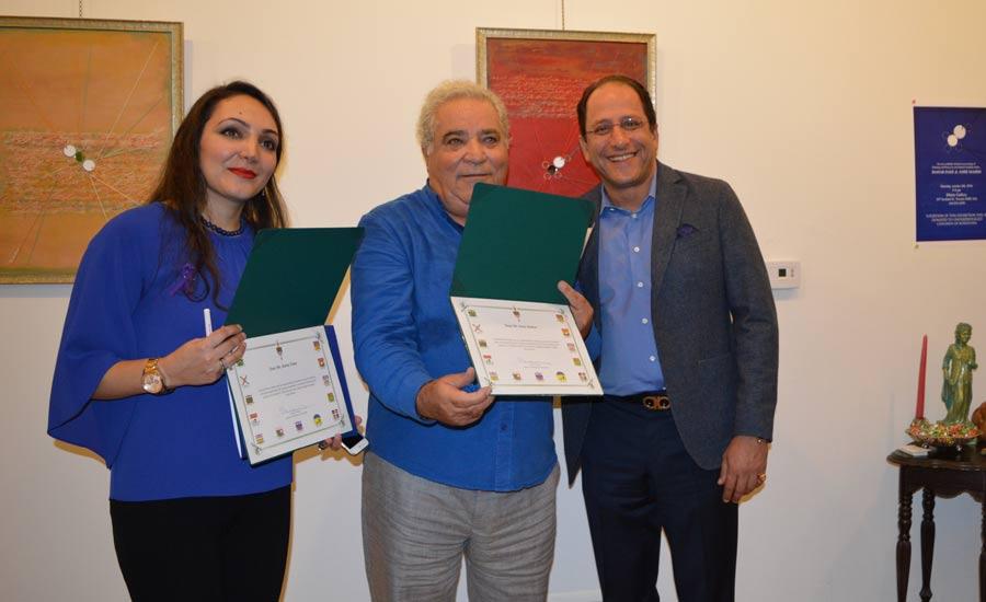 """نمایشگاه نقاشی های بهار داعی و معرفی آلبوم""""راه را باید رفت"""""""