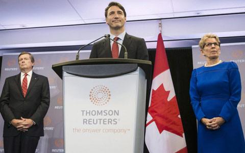 غول رسانه ای تامسون رویترز به کانادا می آید