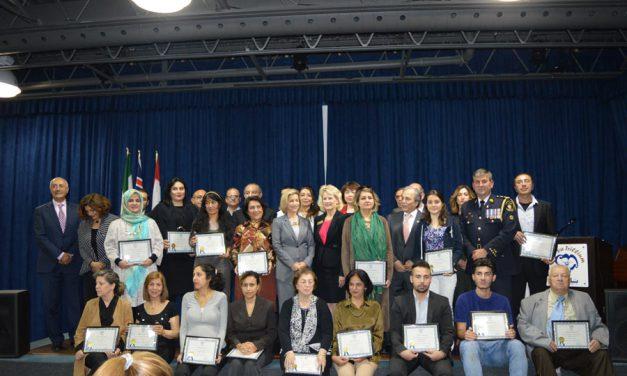 قدردانی از کمک های دولت و داوطلبان بنیاد پریا