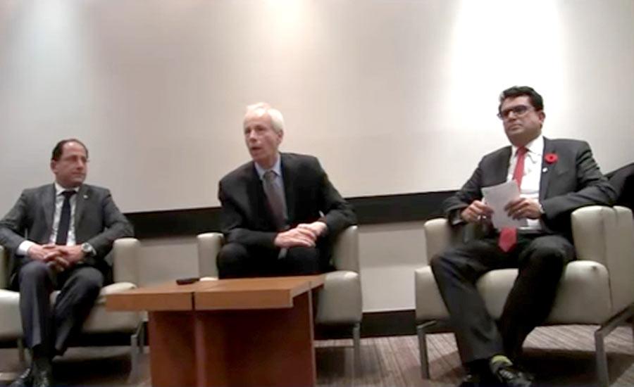 نشست وزیر امور خارجه کانادا با اعضای جامعه ی ایرانی تورنتو