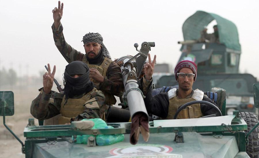 """گزارشی از پایگاه """"واحدهای بسیج مردمی"""" در جنوب موصل/برگردان: جواد طالعی"""