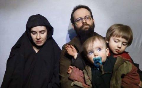 خانواده ی گروگان کانادایی در ویدیوی تازه ی طالبان