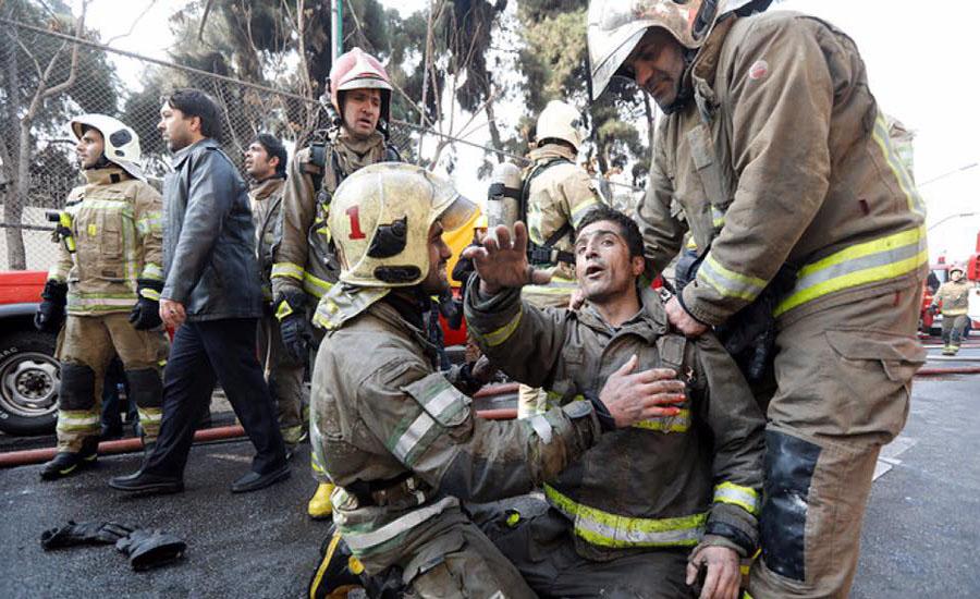 مجتمع تجاری پلاسکو، اولین ساختمان بلندمرتبه ایران، فرو ریخت