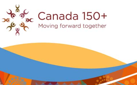ادای احترام ونکوور و ویکتوریا به بومیان کانادا در جشن ۱۵۰ سالگی اتحاد کانادا