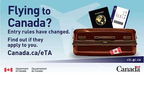 مجوز الکترونیکی سفر به کانادا بسیاری را دچار مشکل کرد