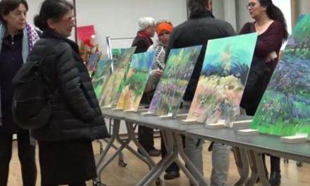 گزارش شهروند از نمایشگاه نقاشی پولاد عبدالرحیمی