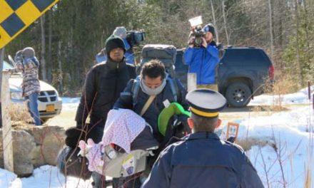 مرز کانادا آخرین امید پناهجویان
