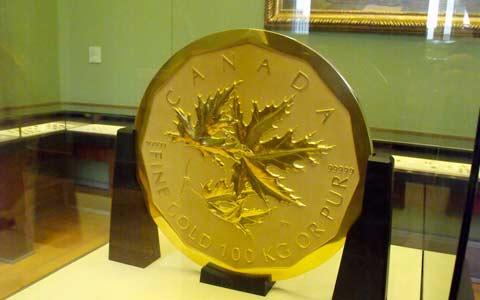 سکه ی چند میلیون دلاری کانادایی از موزه ای در آلمان دزدیده شد